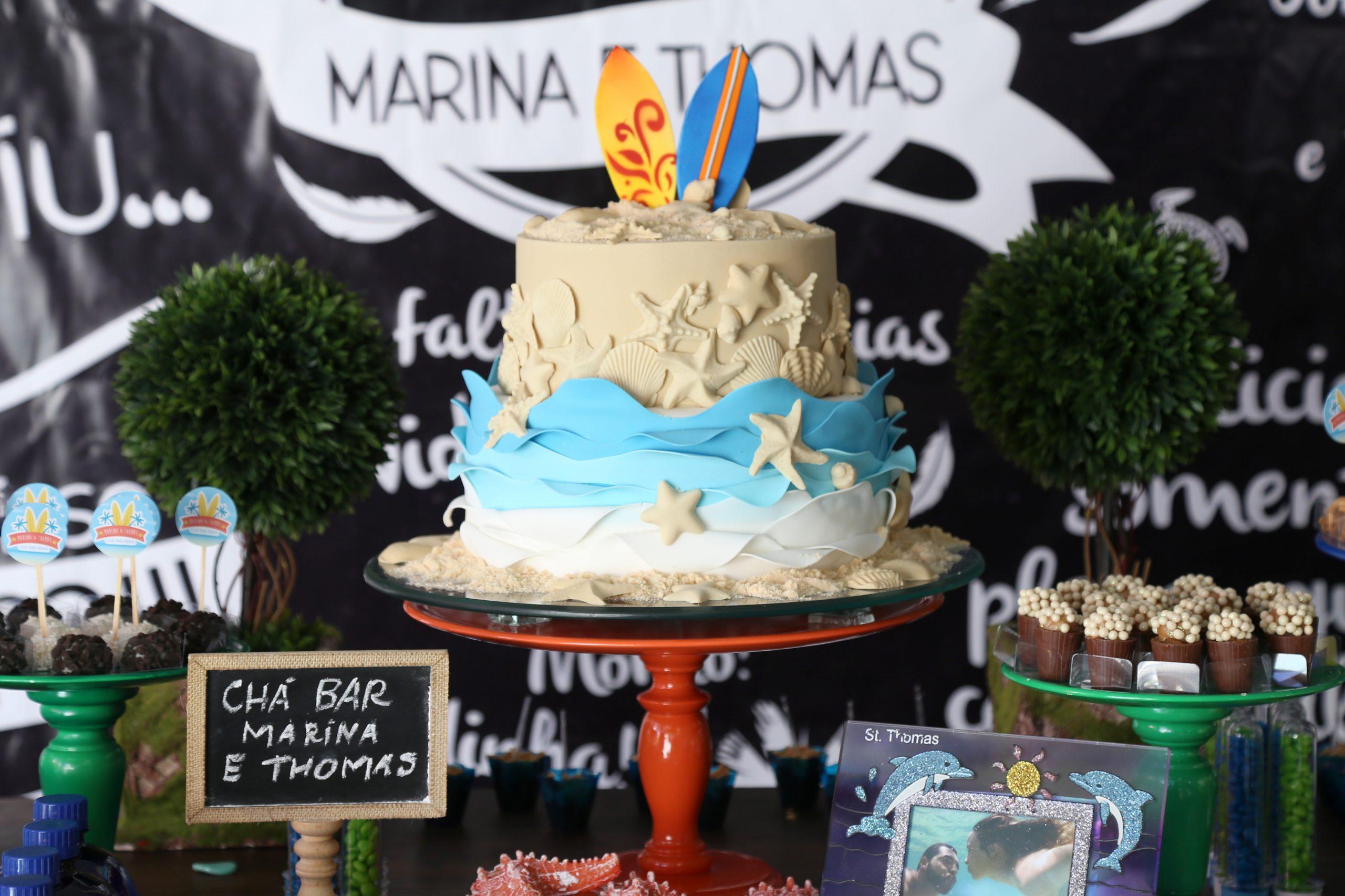 Chá Bar Marina e Thomas -