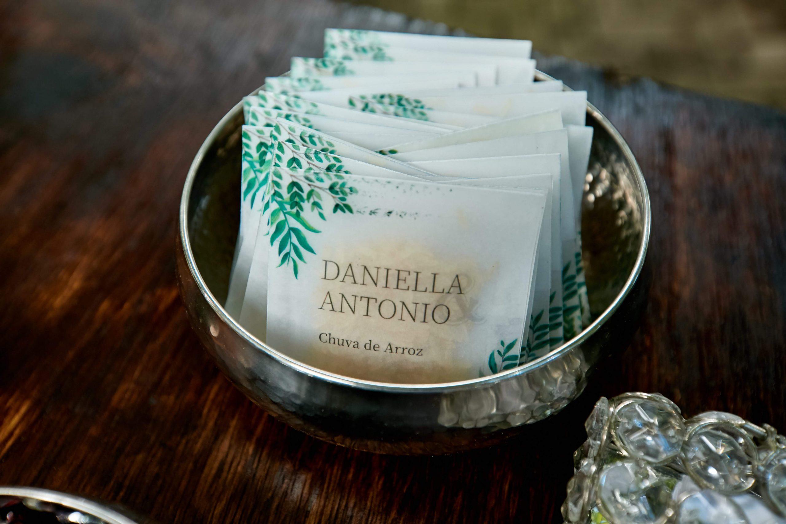 Saquinhos de Arroz de Daniella -