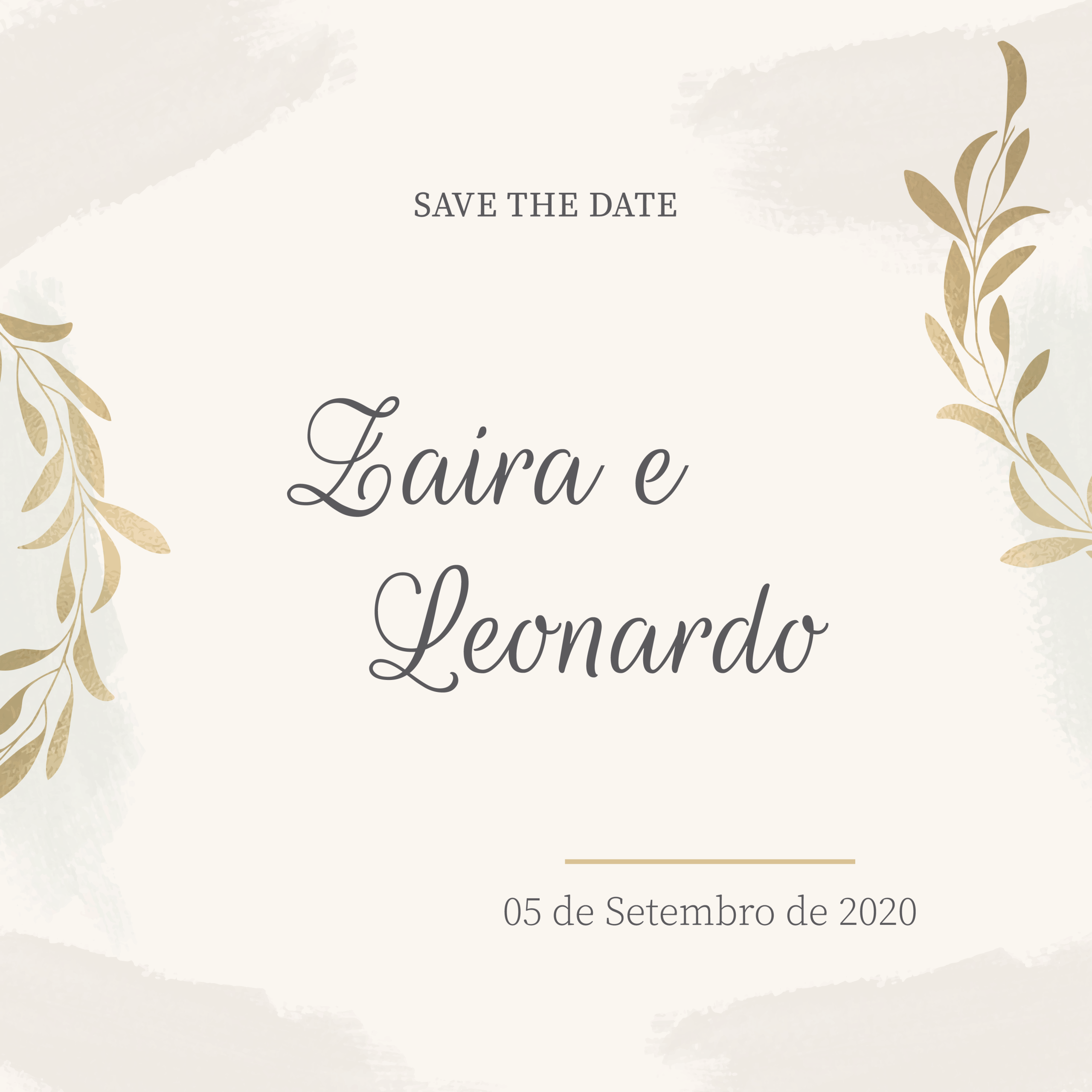 Save the Date Zaira -