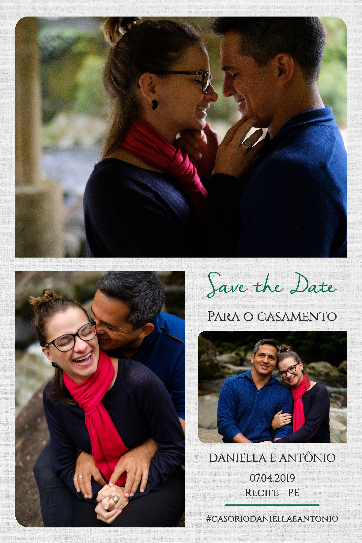 Save the date Dane e Antônio -