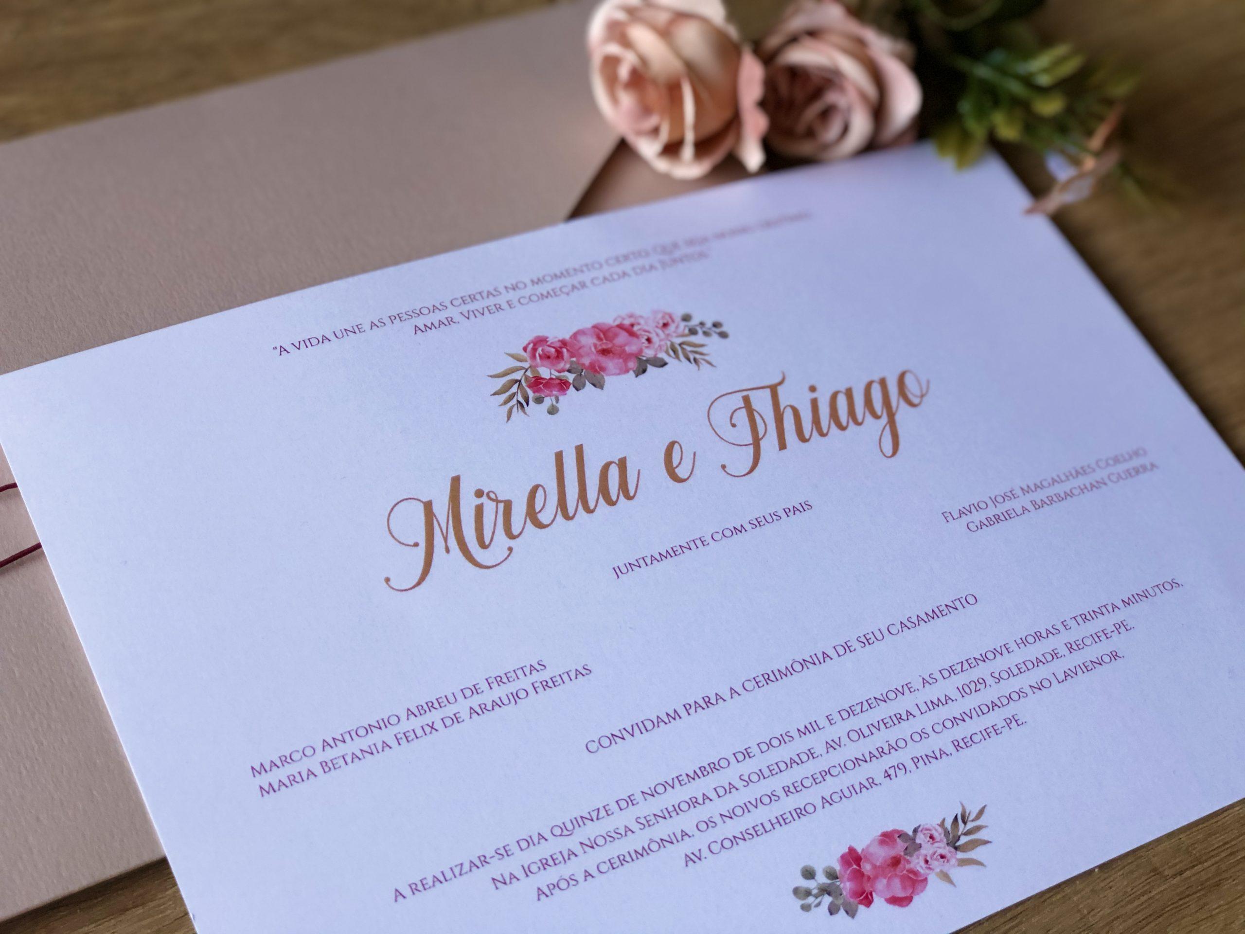 Convite Mirella e Thiago -