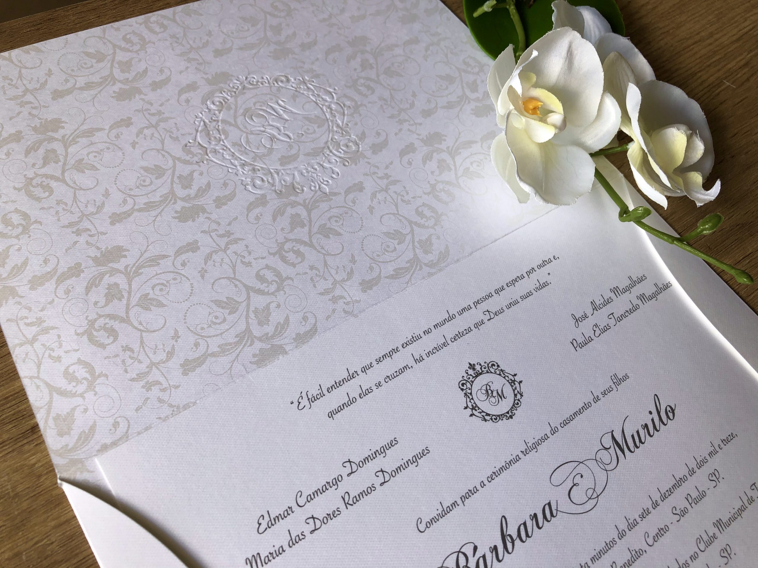 Convite de Barbara e Murilo -