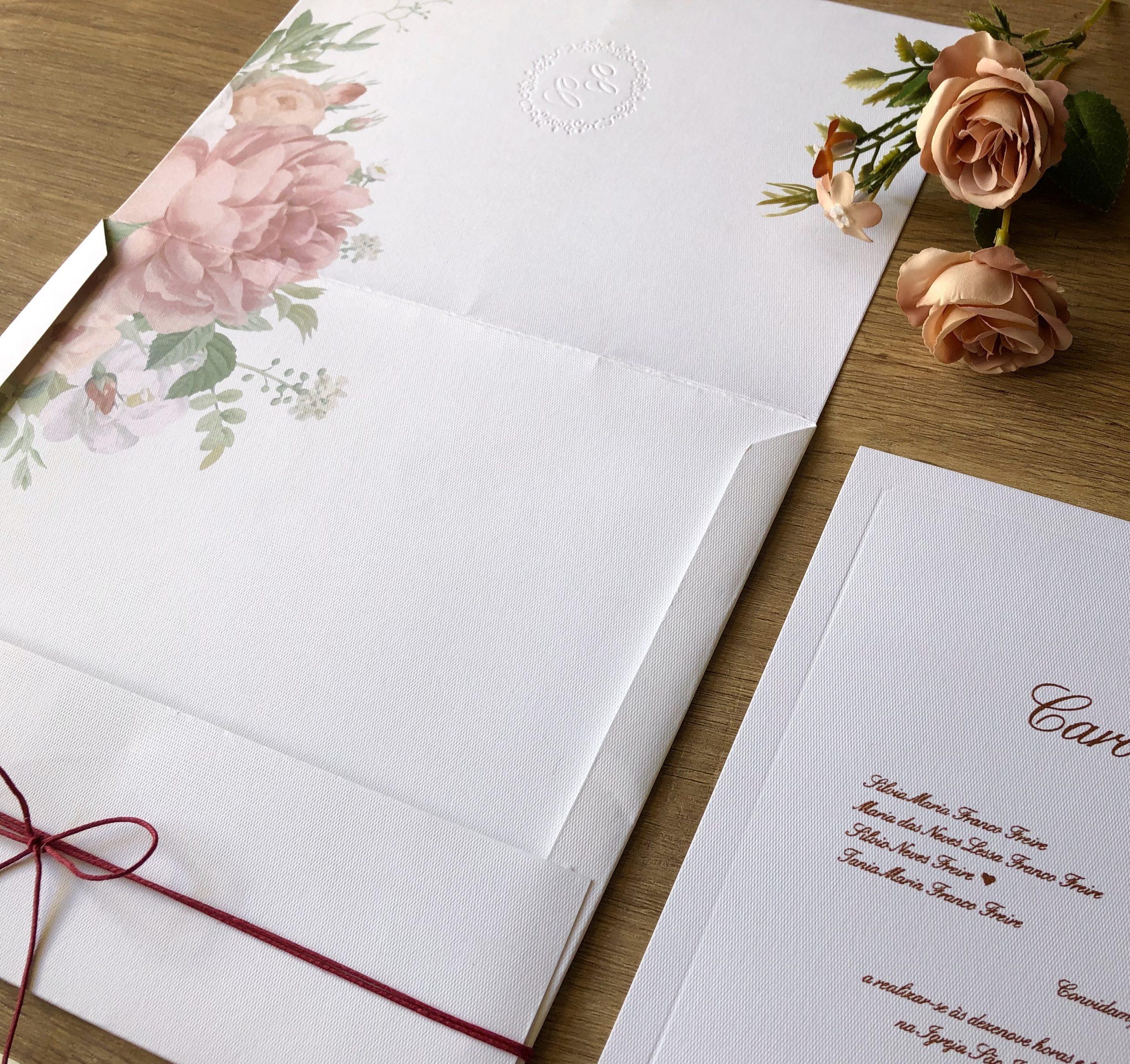 Convite Carol e Eduardo -